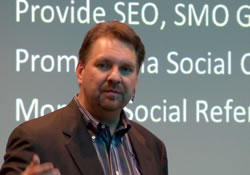 Lee Odden at one of i-SCOOP events